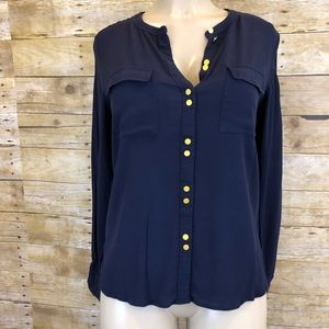 BODEN | Dark Blue Button Up Size 10